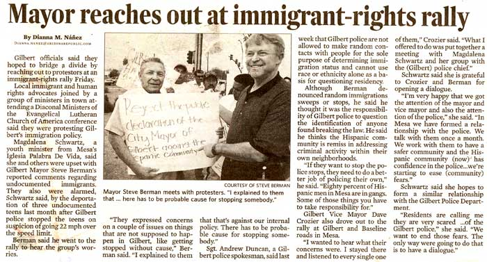 article on immigration